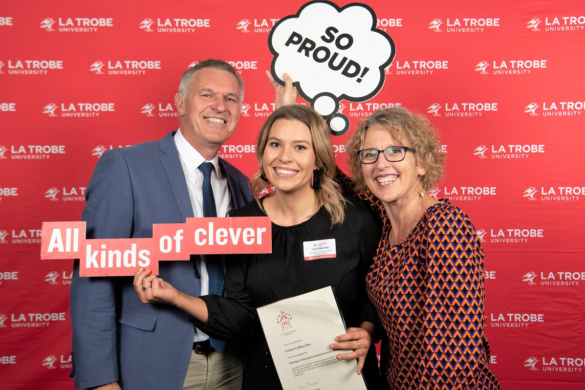 La Trobe University BCHS Award winner August 2019 web