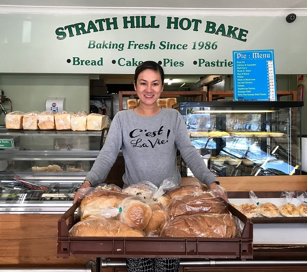 Tuyen Nguyen from Strath Hill Hot Bake.