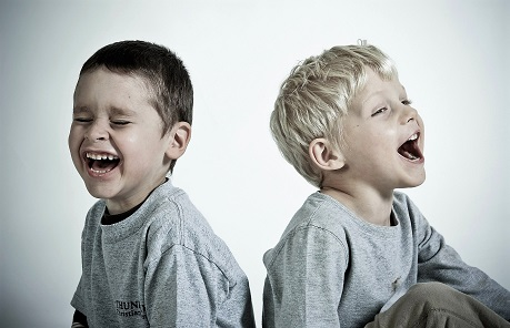 Laughing children web